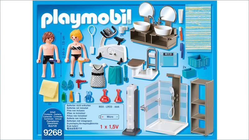 ... PLAYMOBIL City Life: Badezimmer (9268) ...