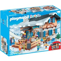 PLAYMOBIL Family Fun: Skihütte (9280)