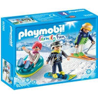 PLAYMOBIL Family Fun: Freizeit-Wintersportler (9286)