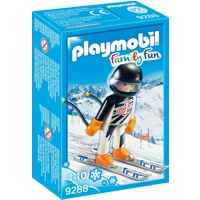 PLAYMOBIL Family Fun: Skirennläufer (9288)