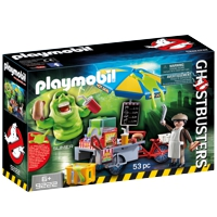 PLAYMOBIL Ghostbusters: Slimer mit Hot Dog Stand (9222)