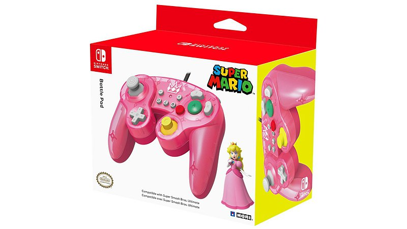 Controller Battle Pad Peach (Switch)