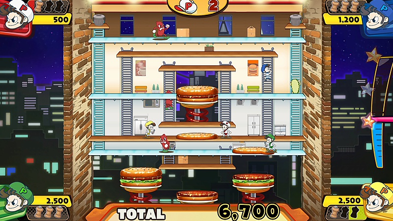 Burger Time Party (Switch)