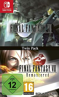 Final Fantasy 7 + 8 Remastered - Twin Pack (Switch)