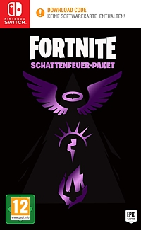 Fortnite - Schattenfeuer-Paket (Code in a Box) (Switch)