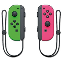 Controller Switch Joy-Con, 2er Set Neon-Grün/Neon-Pink (Switch)