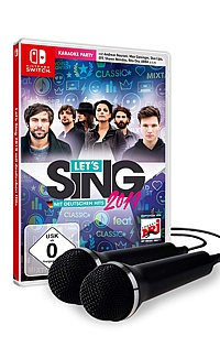 Lets Sing 2019 + 2 Mikrofone (Switch)