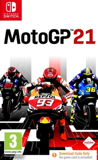 Moto GP 21 (Code in a Box) (Switch)