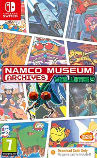 Namco Museum Archives Volume 2 (Code in a Box) (Switch)