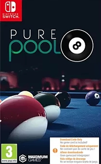 Pure Pool (Code in a Box) (Switch)