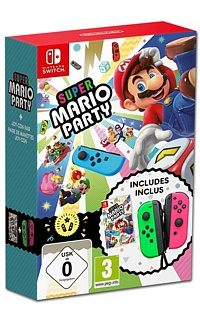 Super Mario Party + Joy-Con (Neon-Grün/Neon-Pink) (Switch)