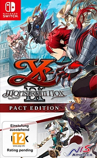 Ys IX: Monstrum Nox - Pact Edition (Switch)