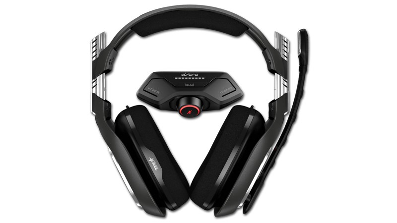 Headset Astro Gaming A40 TR inkl. MixAmp M80, schwarz/rot (2019) (Xbox One)