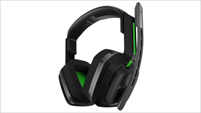 Headset Astro Gaming A20, wireless grau/grün (Xbox One)