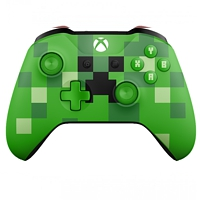 Controller wireless, Minecraft Creeper (Xbox One)