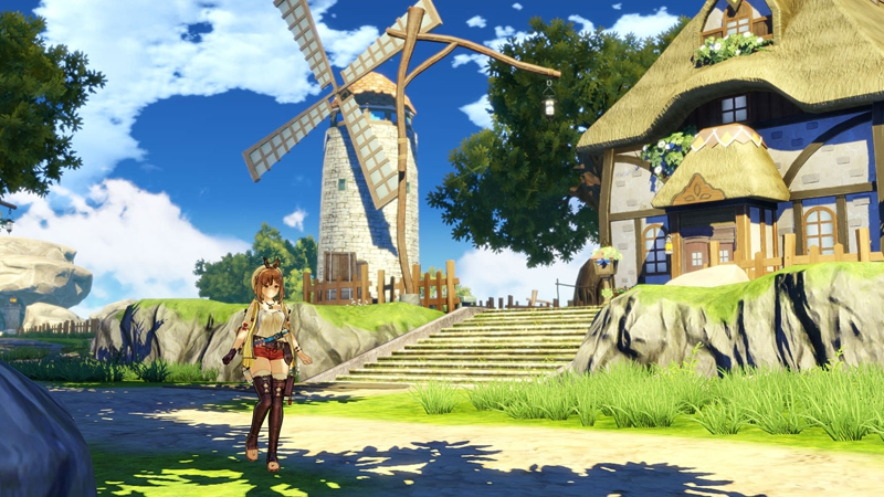 Atelier Ryza: Ever Darkness & the Secret Hideout (Playstation 4)