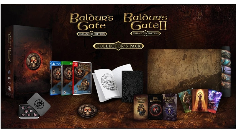 Baldurs Gate: Enhanced - Collectors Edition Pack (Switch)