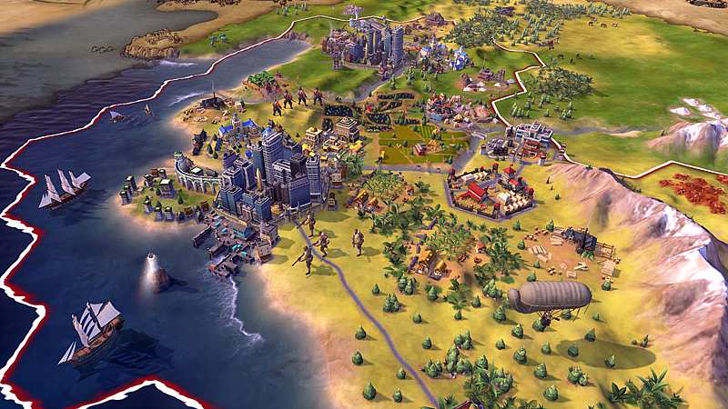 Civilization 6 (Playstation 4)