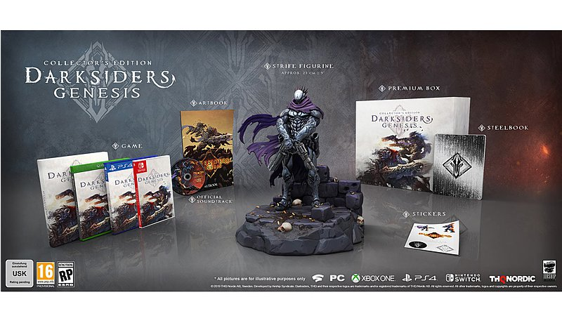 Darksiders Genesis - Collectors Edition (PC-Spiel)