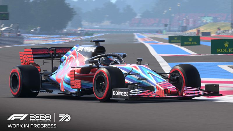 F1 2020 - 70 Jahre F1 Edition (Playstation 4)