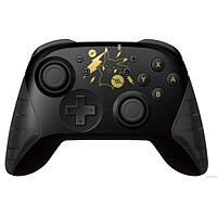 Controller Switch Wireless Hori Pad, Pikachu Black + Gold Edition (Switch)