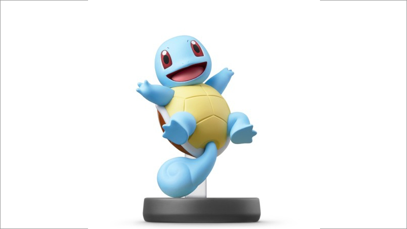 amiibo Super Smash Bros. Collection: 077 Schiggy