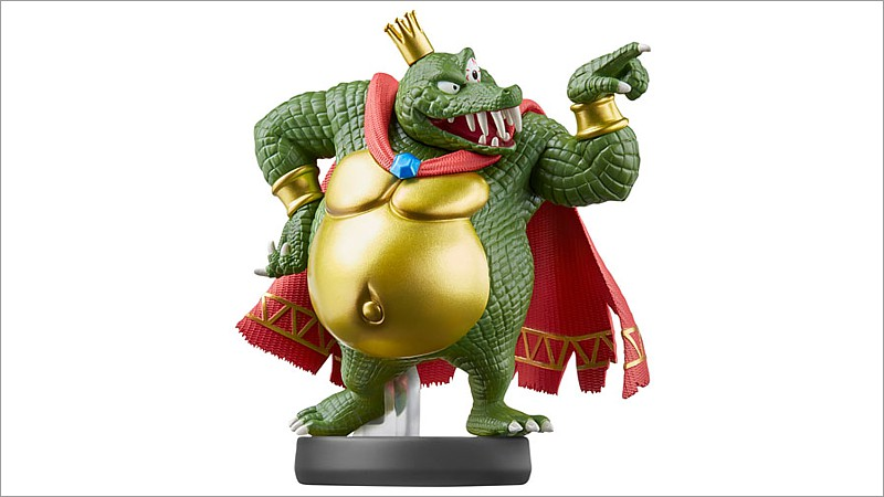 amiibo Super Smash Bros. Collection: King K. Rool