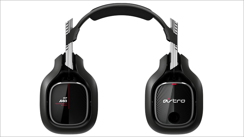 Headset Astro Gaming A40 TR inkl. MixAmp Pro, schwarz/rot (2019) (Xbox One)