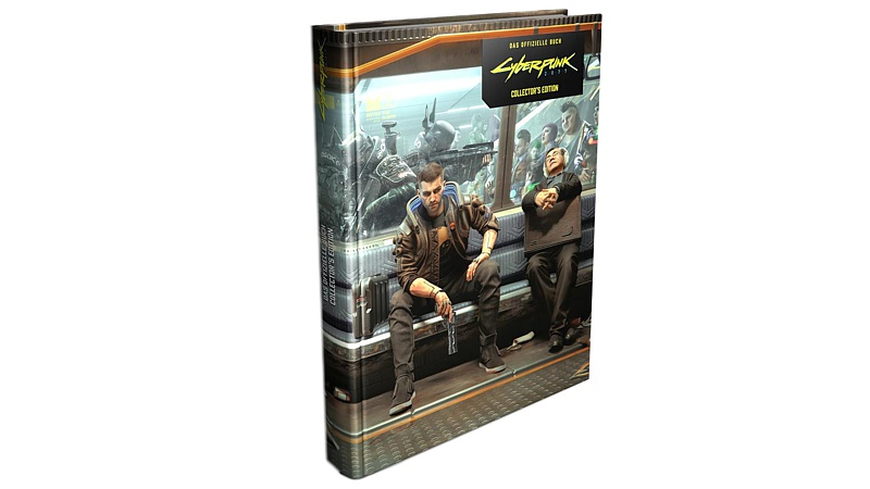 Lösungsbuch: Cyberpunk 2077 - Collectors Edition