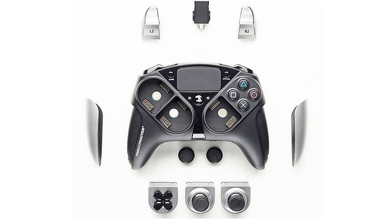 eSwap Pro Controller Silber Color Pack (Playstation 4)