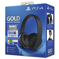 Headset Sony wireless 7.1 Gold schwarz - Fortnite Neo Versa Bundle (Playstation 4)