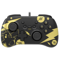 Controller Switch Hori Pad Mini - Pikachu Black & Gold Edition (Switch)