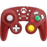 Controller Switch Wireless Battle Pad - Super Mario (Game Cube Design) (Switch)