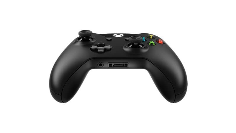 Controller wireless, schwarz (Xbox One)