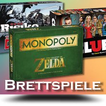 Merchandise Brettspiele (Thema Gaming und Movies)