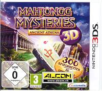 Mahjongg Mysteries: Ancient Athena 3D (Nintendo 3DS)