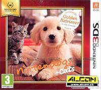 Nintendogs + Cats: Golden Retriever - Nintendo Selects (Nintendo 3DS)