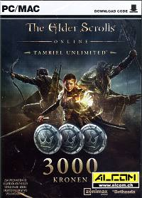 The Elder Scrolls Online: Tamriel Unlimited - 3000 Kronen (Code in Box) (PC-Spiel)