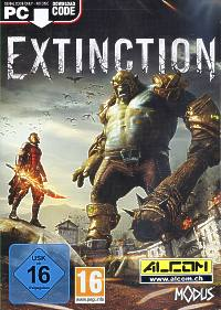 Extinction (Code in a Box) (PC-Spiel)