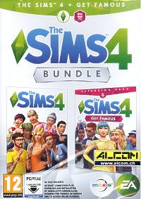 Die Sims 4 - Get famous Bundle (Code in a Box) (PC-Spiel)