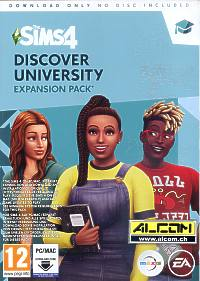 Die Sims 4 Add-on: An die Uni! (Code in a Box) (PC-Spiel)