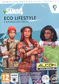 Die Sims 4 Add-on: Eco Lifestyle (Code in a Box) (PC-Spiel)