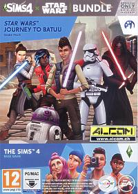 Die Sims 4 - Star Wars: Reise nach Batuu Bundle (Code in a Box) (PC-Spiel)