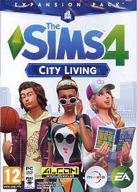 Die Sims 4 Add-on: City Living (Code in a Box) (PC-Spiel)