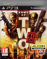 Army of Two 2: The 40th Day (Playstation 3)