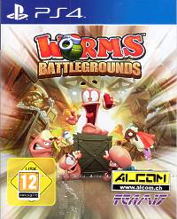 Worms Battlegrounds (Playstation 4)