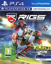 RIGS: Mechanized Combat Legaue (benötigt Playstation VR) (Playstation 4)