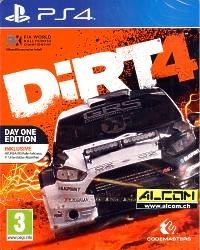 DIRT 4 - Day One Edition Steelbook (Playstation 4)
