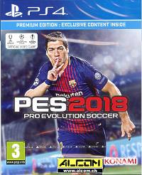 Pro Evolution Soccer 2018 - Premium Edition (Playstation 4)