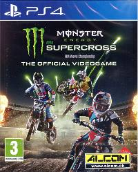 Monster Energy Supercross - The Official Videogame (Playstation 4)
